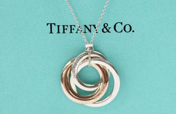 TIFFANY&Co. ティファニー インターロッキング サークル 3連 ネックレス