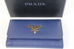 PRADA プラダ 6連キーケース レザー