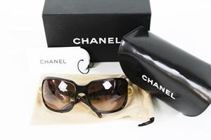 CHANEL シャネル サングラス 6023 ココマーク ブラウン