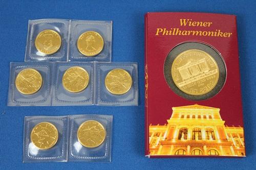 K24コイン・ウィーン金貨・メープル金貨・24金買取いたしました