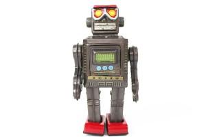 ミスターゼロックス ブリキロボット