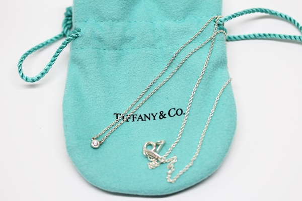 ティファニー バイザヤード ダイヤモンド ネックレス