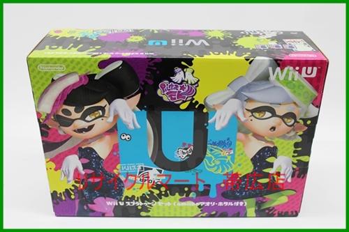 任天堂 Wii U スプラトゥーンセット