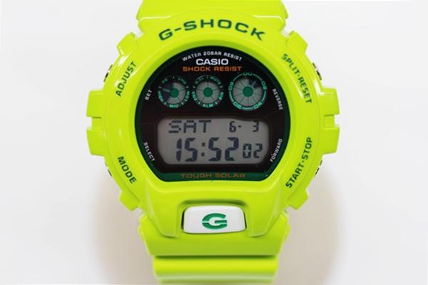 CASIO G-SHOCK G-6900GR グリーン カラーズ 腕時計 雨蛙 タフソーラー