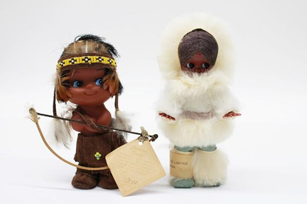 カナディアン 人形 眠り人形