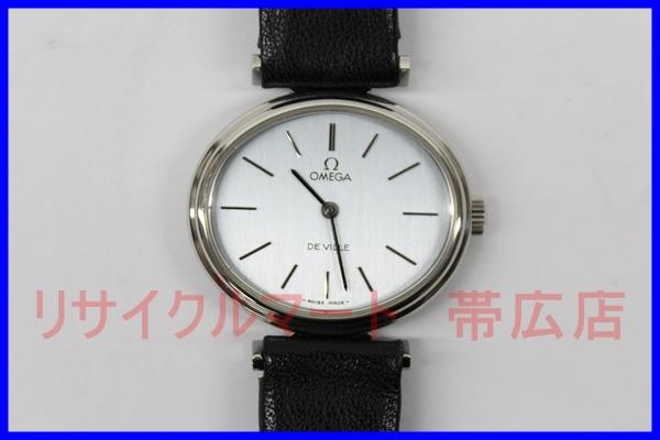 オメガ デビル 手巻き レディース腕時計