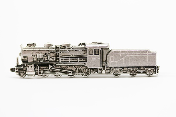 天賞堂 国鉄 9600形 蒸気機関車 貨物用蒸気機関車 ネクタイピン