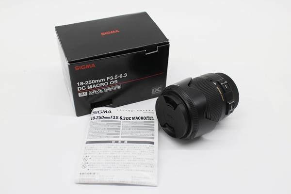 シグマ レンズ 18-250㎜ F3.5-6.3 DC MACRO OS HSM