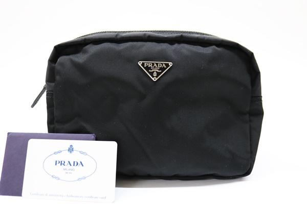 PRADA プラダ ポーチ MV348 ブラック