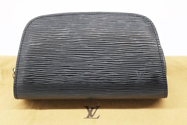 ルイヴィトン ドーフィーヌ M48442 ポーチ エピ ブラック