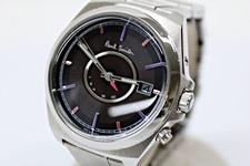 Paul Smith ソーラー電波腕時計 ポールスミス H416-T020879