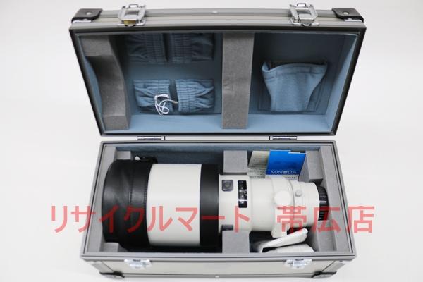 ミノルタ AF APO TELE 400mm F4.5G レンズ 買取