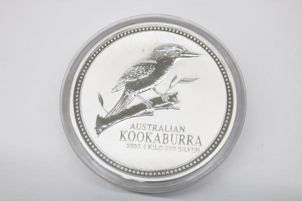 オーストラリア 2003 30ドル 銀貨 1㎏