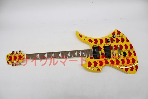 X JAPAN hideモデル エレキギター MG-145S イエローハート