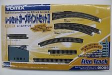 Nゲージ トミックス レールセット カーブポイントセットⅡ(レールパターンE) 91095