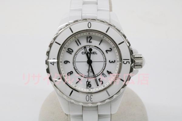 シャネル J12 レディース腕時計 帯広市のお客様より買取り リサイクルマート帯広店