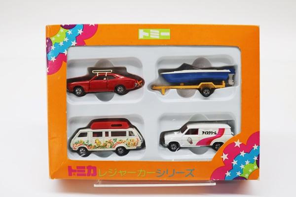 トミカ レジャーカーシリーズ ミニカーセット