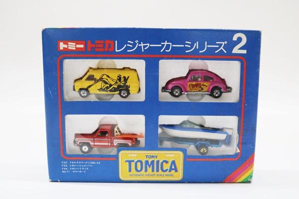トミカ レジャーカーシリーズ2 ミニカーセット