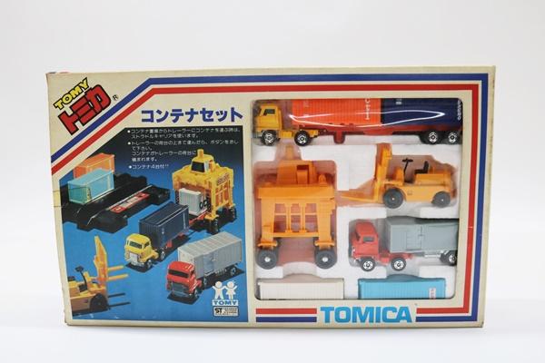 トミカ コンテナセット ミニカー TOMICA