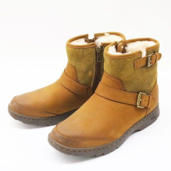 UGG DAWN アグ ドーン ショート ブーツ 1008026 チェストナット