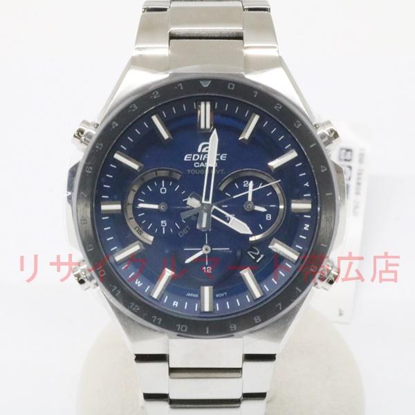 カシオ エディフィス ソーラー電波 腕時計 EQW-T660DB