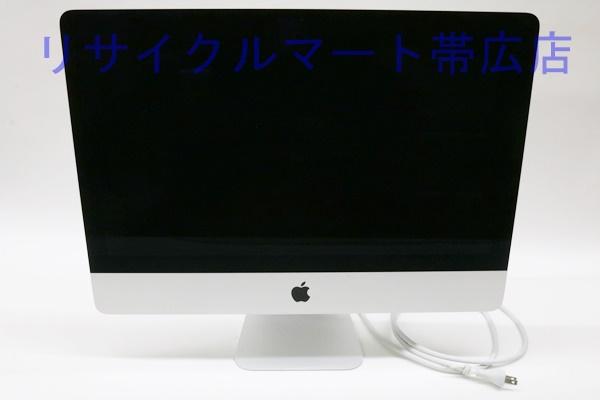 アップル iMac  21.5インチ Late 2015 帯広市のお客様よりお買取り