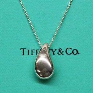 TIFFANY&Co. ティファニー エルサペレッティ ティアドロップ ロング ネックレス Sv925