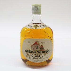 ニッカウイスキー G&G 北海道地区限定発売 特級 760ml 43%