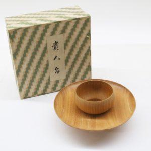 貴人台 木製 直径約16㎝ 茶道具 天目台 献茶