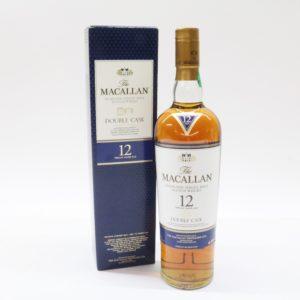 MACALLAN マッカラン 12年 シングルモルト ダブルカスク ウイスキー 700ml 40%