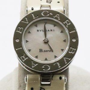 BVLGARI B.zero1 ブルガリ ビー ゼロワン 腕時計 BZ22S レディース ロゴベルト エナメル シェル文字盤