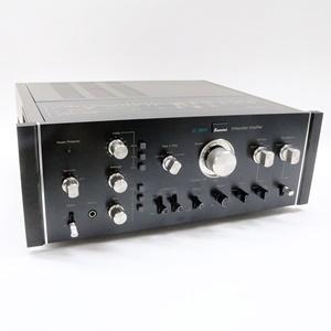 サンスイ プリメインアンプ 80W+80W AU-9900  動作OK アンプ ピンプラグ付き オーディオ機器 音響機器 SANSUI
