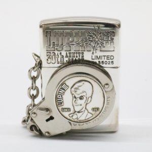 ZIPPO ルパン三世 30周年記念 限定 オイルライター 1997年製 ジッポー 手錠タイプ 30th ANNIVERSARY 喫煙具 煙草 タバコ