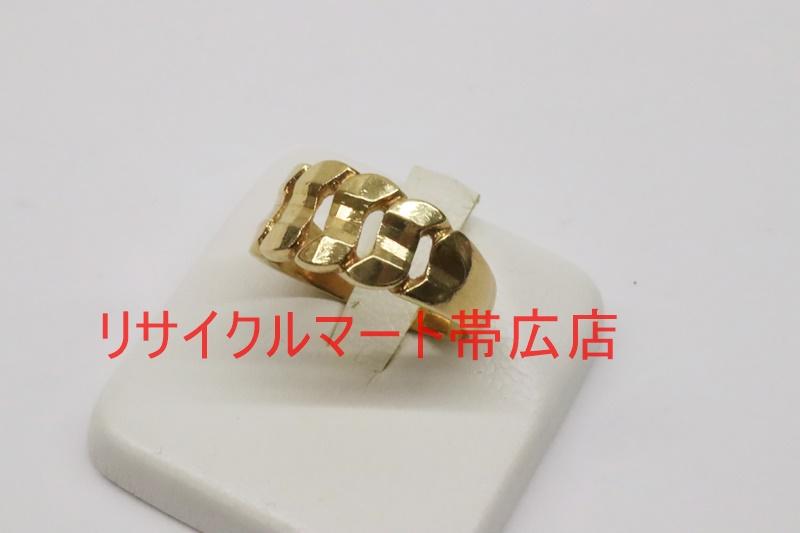 帯広市 貴金属 18金の指輪リング 買い取りご紹介!